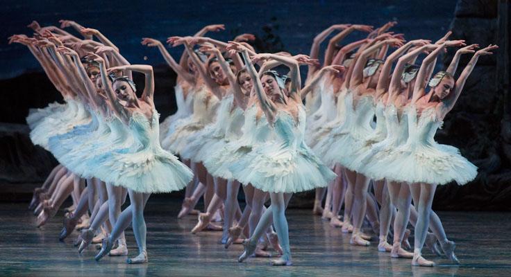 Corps de Ballet. Swan Lake, American Ballet  Theatre (ABT) Australia tour review.