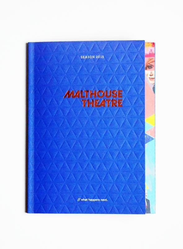 Malthouse Theatre 2015 Season brochure cover.
