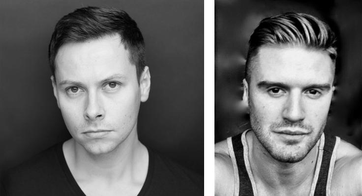 Matthew Bourne's Swan Lake. Chris Marney and Simon Williams.