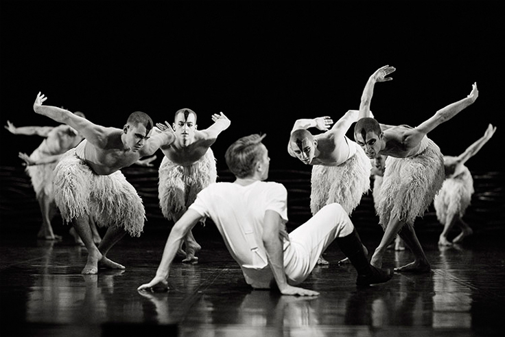 Matthew Boune's Swan Lake. Photo by Helen Maybanks.