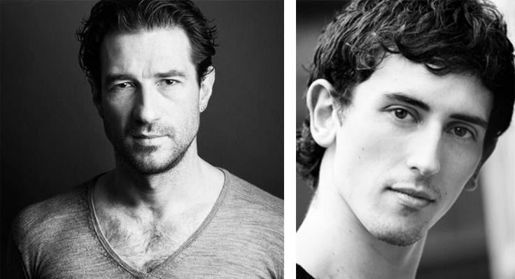 Matthew Bourne's Swan Lake. Jonathan Olivier and Chris Trenfield.