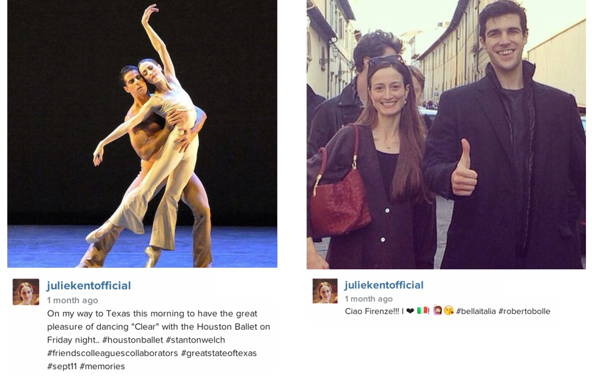 Julie Kent Marcelo Gomes Roberto Bolle instagram